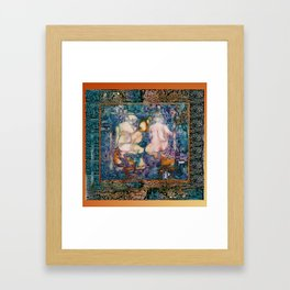 TEMPLE OF THE CATS Framed Art Print