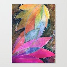 Lotus Dreaming in Pink Canvas Print