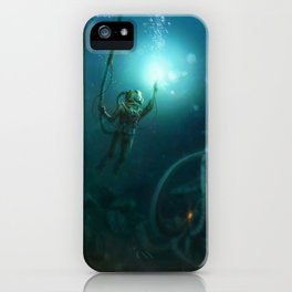 The Abyss iPhone Case