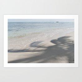 shadow palms Art Print