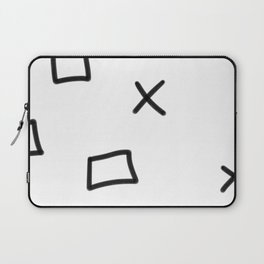 x and o´s? Laptop Sleeve
