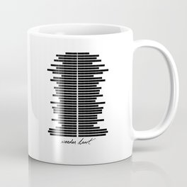 Wooden Heart Coffee Mug
