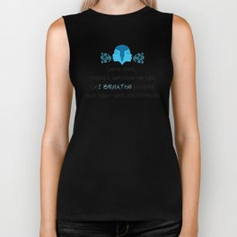 Nothing to Say Poem Biker Tank