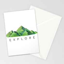 Explore, Travel Decor, Travel Printable, Printable Art, Typography Quote Stationery Cards