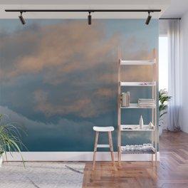 Sorbet Clouds Wall Mural