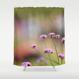 Flowers London 1 Shower Curtain