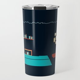 In a rainy day, a place to stay Travel Mug