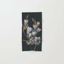 Night Flowers Hand & Bath Towel