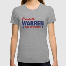 Elizabeth Warren for President T-shirt