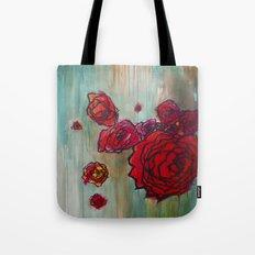 Rose Cluster in progress Tote Bag