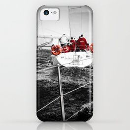 Lifesavers Near the Ocean iPhone Case