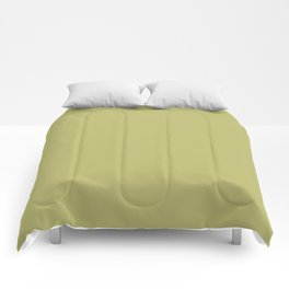 From Crayon Box – Olive Green Solid Color Comforters