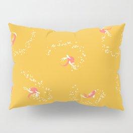 Fish Dance   Yellow Pillow Sham