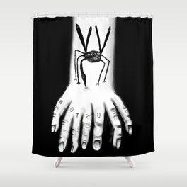 Mosquito Shower Curtain