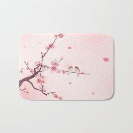 Oriental cherry blossom in spring 005 Bath Mat
