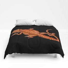 Bearded Dragon 2 Comforters
