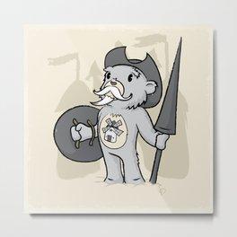 Don Quijoso de la Mancha Metal Print