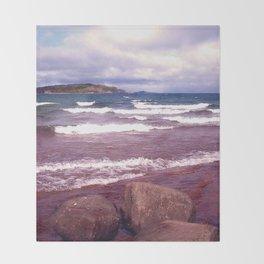 Upper Peninsula Throw Blanket
