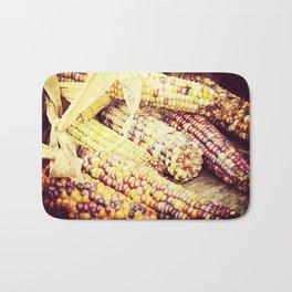 Colorful Corn III Bath Mat