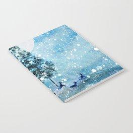 Winter Night 4 Notebook