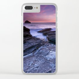 The Sun and the Sea Clear iPhone Case