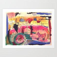 Procreazione Art Print