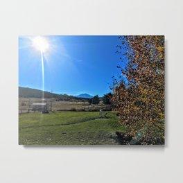 Shine Down on Me - Mt Sopris - GWS, CO Metal Print