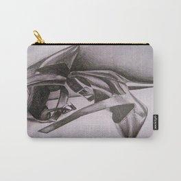 Calvin Klein Black Heels Carry-All Pouch
