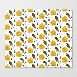PATTERN AUTUNNALE I Canvas Print