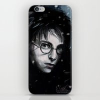 harry iPhone & iPod Skins featuring Harry by LucioL