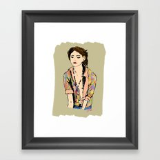 Some day Framed Art Print