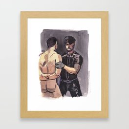 JAMES & COLTON, Leather Daddies by Frank-Joseph Framed Art Print