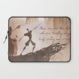 The Tale of Three Brothers Laptop Sleeve