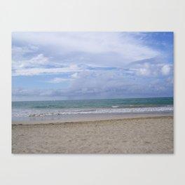 ocean views Canvas Print