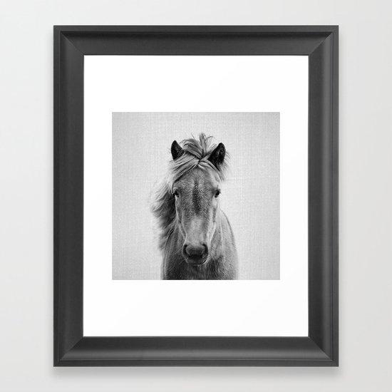 Wild Horse - Black & White by galdesign
