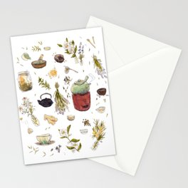 Tea Collection Stationery Cards