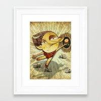 ballet Framed Art Prints featuring Ballet by José Luis Guerrero