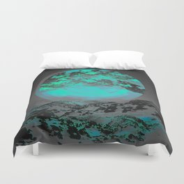 Neither Up Nor Down II Duvet Cover