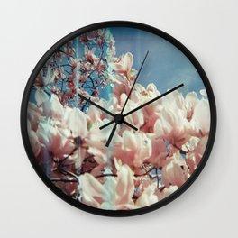Digital Spring Wall Clock