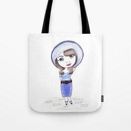 Vintage Gal ~ CiCi Marie Tote Bag