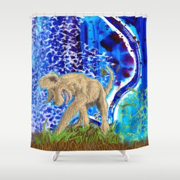 Digging Up the Girl, Growing the Girl Shower Curtain