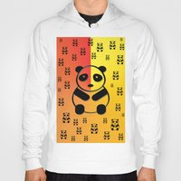 pandas Hoodies featuring Pandas by Gaspar Avila
