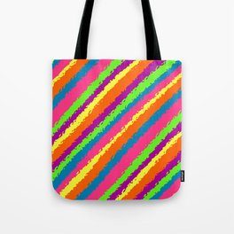 Crazy Colorz Tote Bag