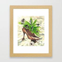 Juke Jam Framed Art Print