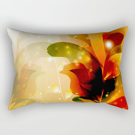 Colorful leaves Rectangular Pillow