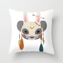 koala masquerade Throw Pillow
