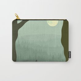 wolf forest Carry-All Pouch