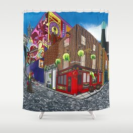 Dublin & Proud Shower Curtain