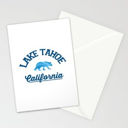 Lake Tahoe. Stationery Cards