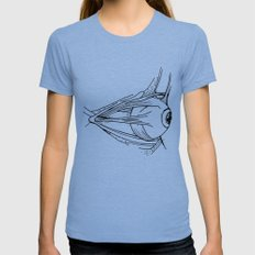 Eye Tri-Blue Womens Fitted Tee LARGE